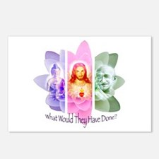 What would They have done? Postcards (Package of 8