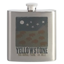 Unique Yellowstone national park Flask