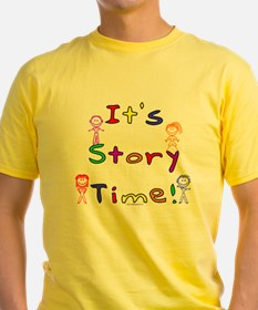 Story Time w Stick Kids T-Shirt