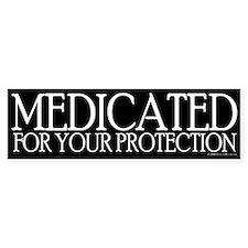 Medicated Bumper Bumper Sticker