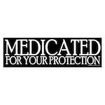 Medicated Bumper Sticker
