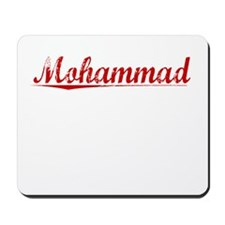 Mohammad, Vintage Red Mousepad