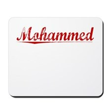 Mohammed, Vintage Red Mousepad