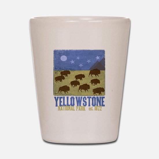 Cute Yellowstone Shot Glass