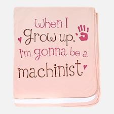 Kids Future Machinist baby blanket
