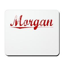 Morgan, Vintage Red Mousepad