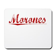 Morones, Vintage Red Mousepad