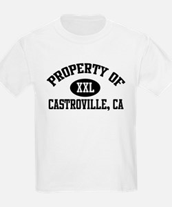 Property of CASTROVILLE Kids T-Shirt