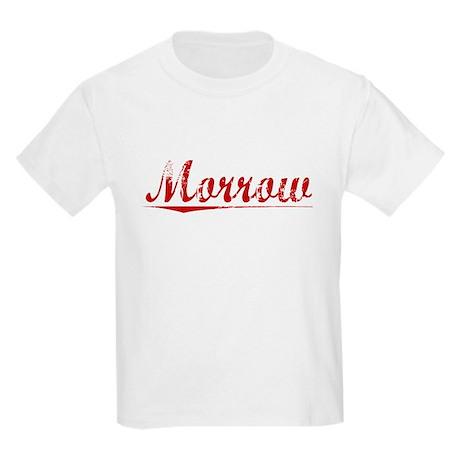 Morrow, Vintage Red Kids Light T-Shirt