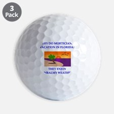 undertaker joke Golf Ball