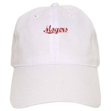 Moyers, Vintage Red Baseball Cap