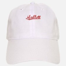 Mullett, Vintage Red Baseball Baseball Cap