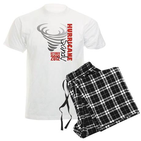Hurricane Sandy 2012 Men's Light Pajamas