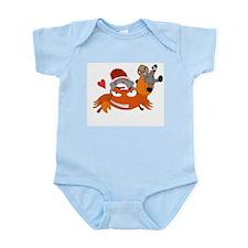 Team FiddlerCrabLovesOods Infant Bodysuit