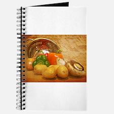 Cascading Vegetables Journal