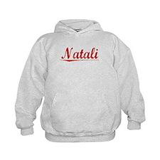 Natali, Vintage Red Hoodie