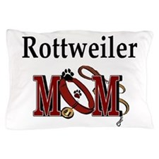 Rottweiler Mom Pillow Case