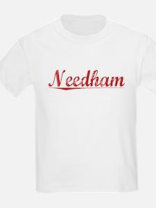Needham, Vintage Red T-Shirt