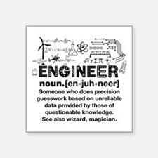 Funny Engineer Definition Sticker