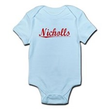 Nicholls, Vintage Red Infant Bodysuit