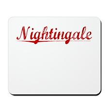 Nightingale, Vintage Red Mousepad