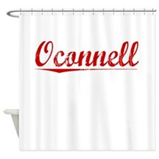 Oconnell, Vintage Red Shower Curtain