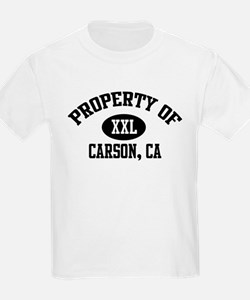 Property of CARSON Kids T-Shirt