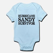 Hurricane Sandy Survivor Infant Bodysuit