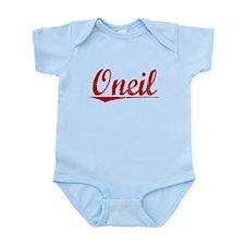 Oneil, Vintage Red Infant Bodysuit