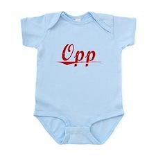 Opp, Vintage Red Infant Bodysuit