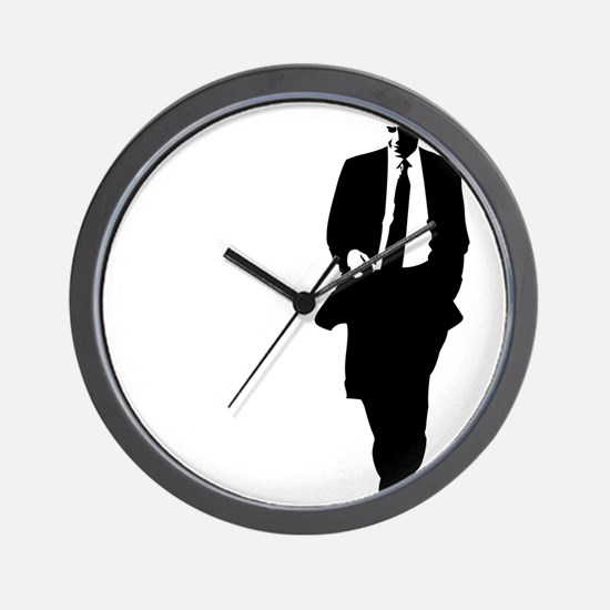 bigobama.png Wall Clock