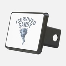 I Survived Hurricane Sandy Hitch Cover