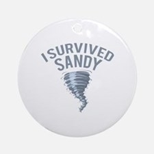 I Survived Hurricane Sandy Ornament (Round)