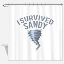 I Survived Hurricane Sandy Shower Curtain