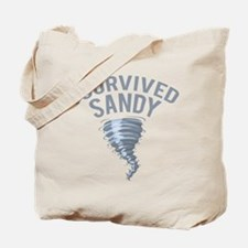 I Survived Hurricane Sandy Tote Bag