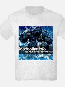 Fancy Fruit Blueberry T-Shirt