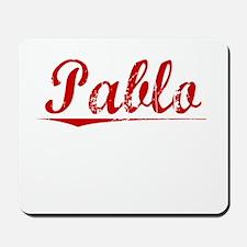 Pablo, Vintage Red Mousepad