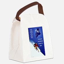 Ski ME Canvas Lunch Bag