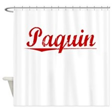 Paquin, Vintage Red Shower Curtain