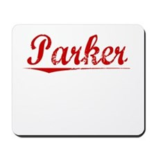 Parker, Vintage Red Mousepad