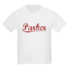 Parker, Vintage Red T-Shirt