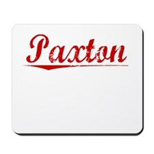 Paxton, Vintage Red Mousepad