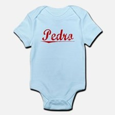 Pedro, Vintage Red Infant Bodysuit