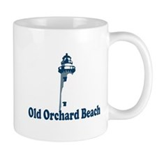 Old Orchard Beach ME - Lighthouse Design. Mug
