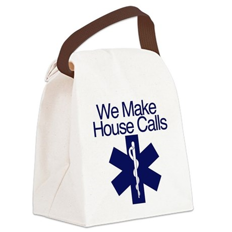 We Make House Calls Canvas Lunch Bag