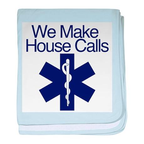 We Make House Calls baby blanket