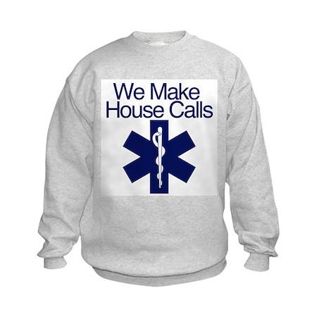 We Make House Calls Kids Sweatshirt