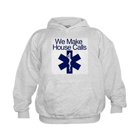 We Make House Calls Kids Hoodie