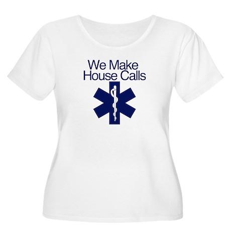 We Make House Calls Women's Plus Size Scoop Neck T