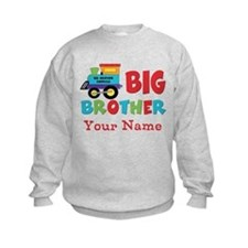 Big Brother Train Personalized Sweatshirt